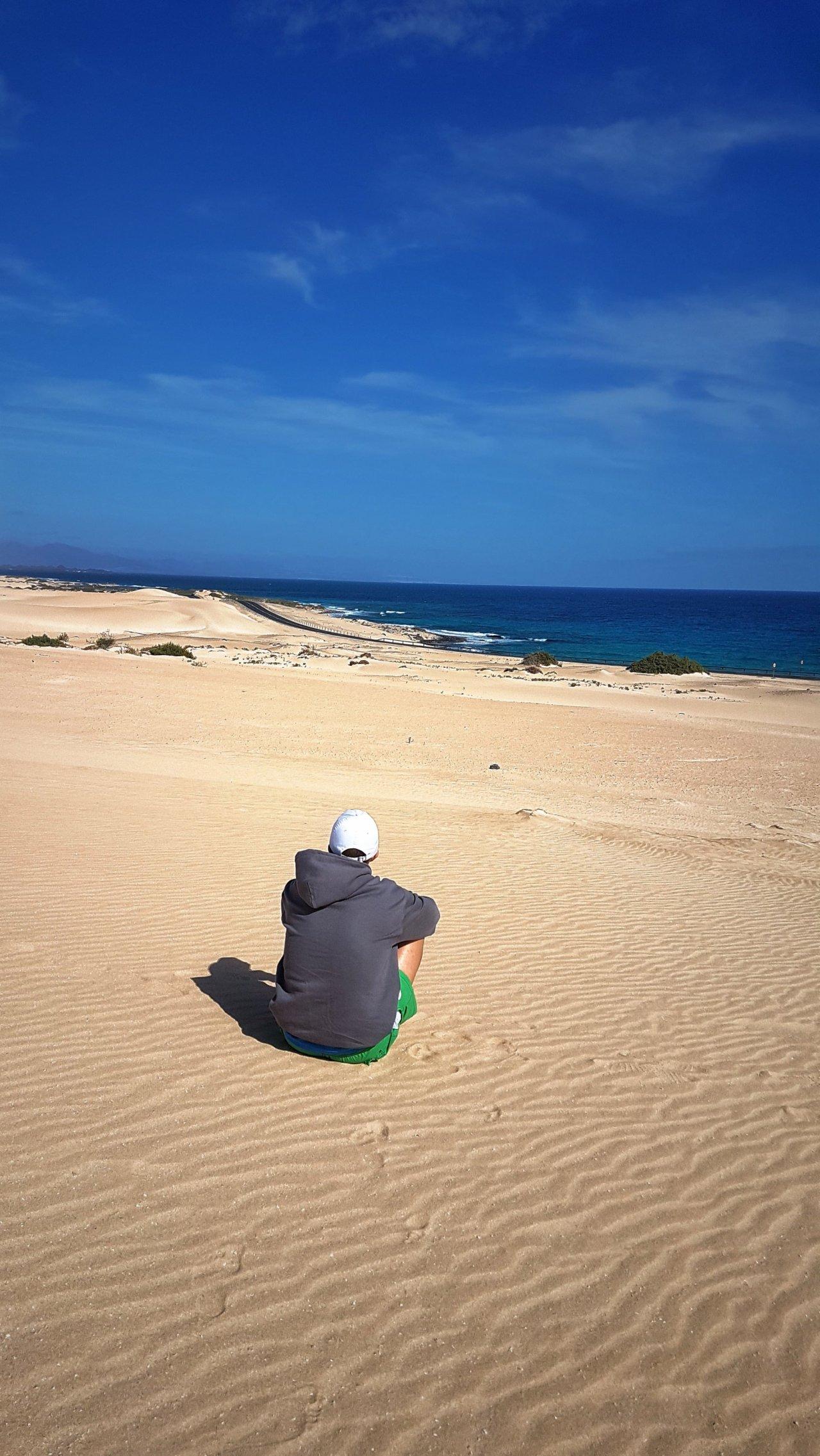 Le Dune di Corralejo,Fuerteventura!